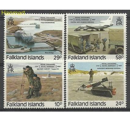 Znaczek Falklandy 1987 Mi 460-463 Czyste **