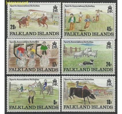 Znaczek Falklandy 1989 Mi 507-512 Czyste **