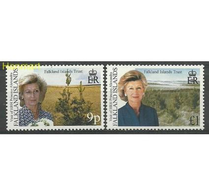Falklandy 2000 Mi 774-775 Czyste **