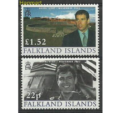 Znaczek Falklandy 2002 Mi 863-864 Czyste **