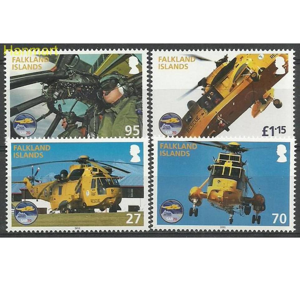 Falklandy 2011 Mi 1134-1137 Czyste **