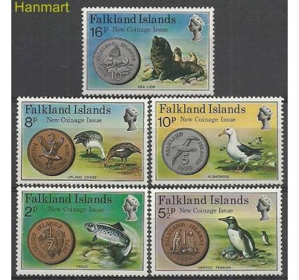 Znaczek Falklandy 1975 Mi 240-244 Z podlepką *