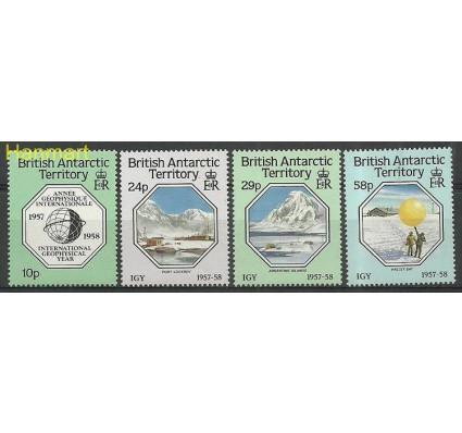 Znaczek Brytyjskie Terytorium Antarktyczne 1987 Mi 144-147 Czyste **