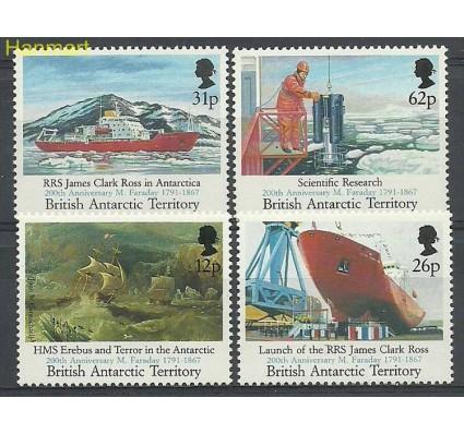 Znaczek Brytyjskie Terytorium Antarktyczne 1991 Mi 189-192 Czyste **