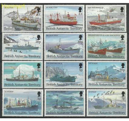 Znaczek Brytyjskie Terytorium Antarktyczne 1993 Mi 203-214I Czyste **