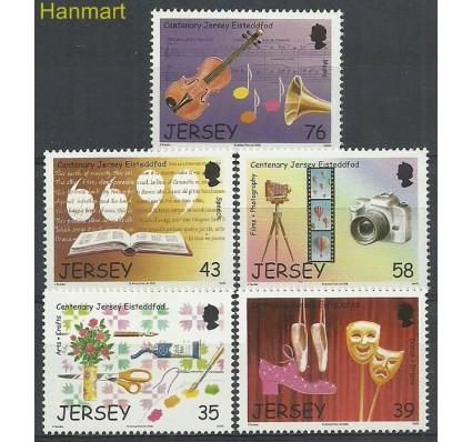 Znaczek Jersey 2008 Mi 1337-1341 Czyste **