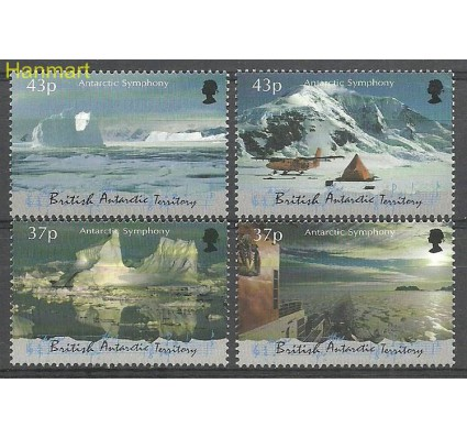 Znaczek Brytyjskie Terytorium Antarktyczne 2000 Mi 311-314 Czyste **