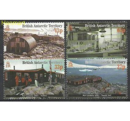 Znaczek Brytyjskie Terytorium Antarktyczne 2001 Mi 315-318 Czyste **