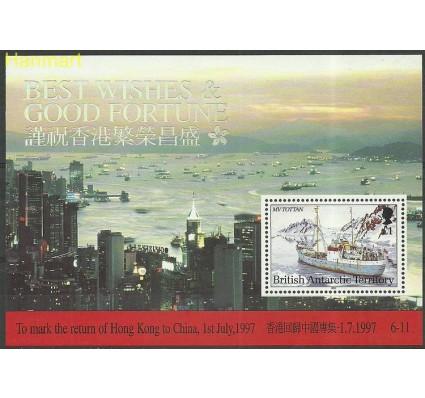 Znaczek Brytyjskie Terytorium Antarktyczne 1997 Mi bl6 Czyste **