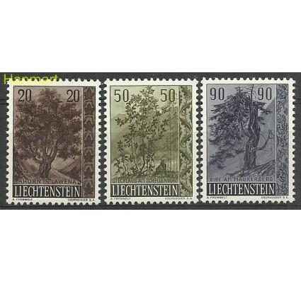 Liechtenstein 1958 Mi 371-373 Czyste **