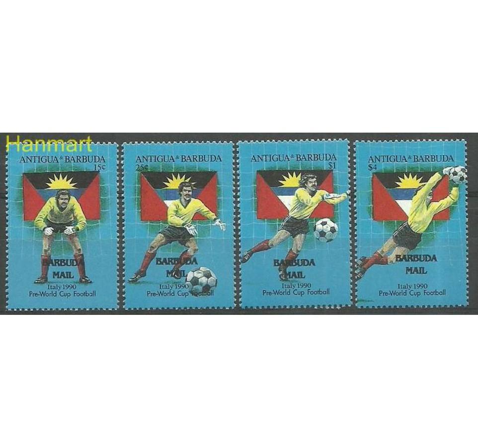 Barbuda 1990 Mi 1418-1421 Czyste **