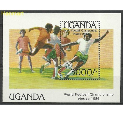 Znaczek Uganda 1986 Mi bl 56 Czyste **