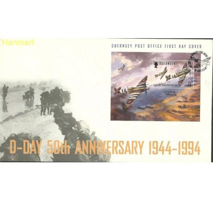 Znaczek Guernsey 1994 Mi bl11 FDC