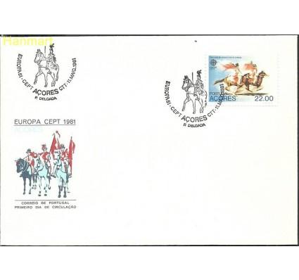 Znaczek Azory 1981 Mi 342 FDC