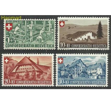 Znaczek Szwajcaria 1945 Mi 460-463 Czyste **
