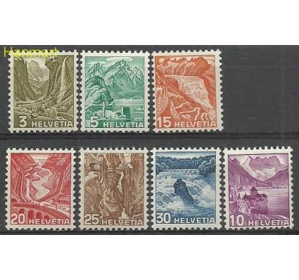 Szwajcaria 1934 Mi 270-276 Z podlepką *