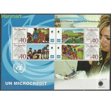 Znaczek Gambia 2008 Mi per6005(bl3) Czyste **