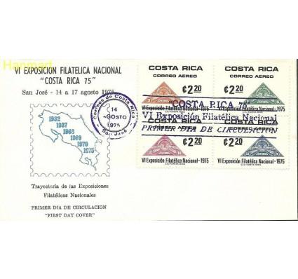 Znaczek Kostaryka 1975 Mi vie919-922 FDC