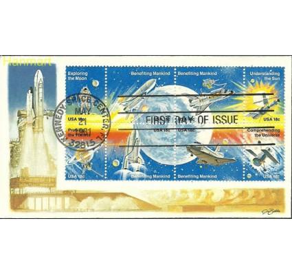 Znaczek USA 1981 Mi ach1481-1488b FDC
