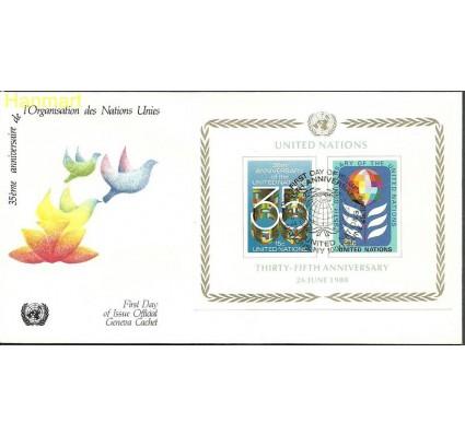 Znaczek Narody Zjednoczone Nowy Jork 1980 Mi bl7 FDC