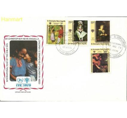 Znaczek St. Christopher Nevis Anguilla 1979 Mi 383-386 FDC
