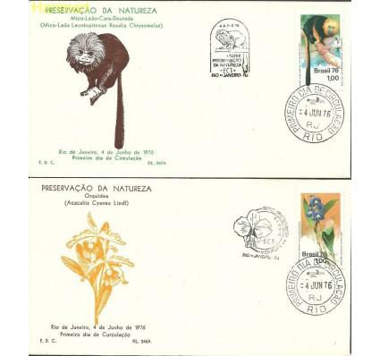 Brazylia 1976 Mi 1534-1535 FDC