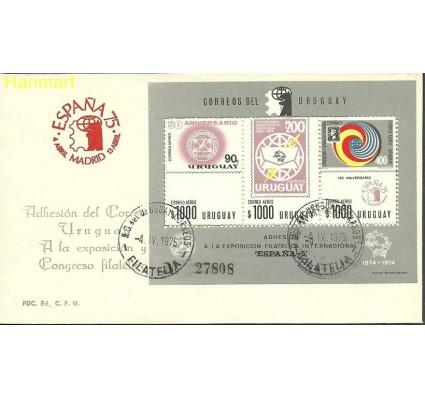 Urugwaj 1975 Mi bl 23 FDC