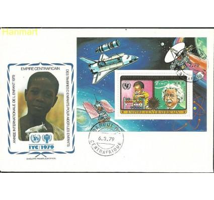 Znaczek Republika Środkowoafrykańska 1979 Mi bl49 FDC