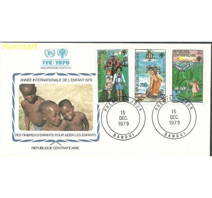 Znaczek Republika Środkowoafrykańska 1979 Mi 643+645+647 FDC