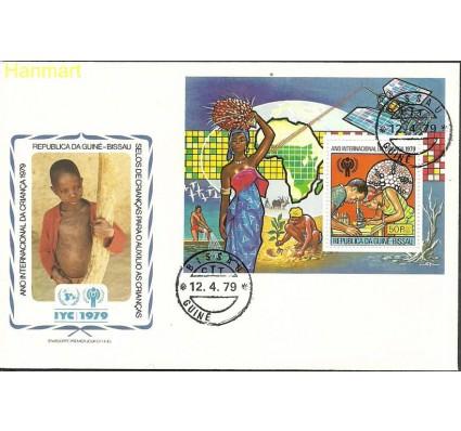 Znaczek Gwinea Bissau 1979 Mi bl147 FDC