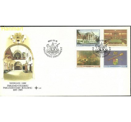 Znaczek Republika Południowej Afryki 1985 Mi 670-673 FDC