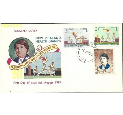Znaczek Nowa Zelandia 1969 Mi 504-506 FDC