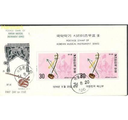 Znaczek Korea Południowa 1974 Mi bl388 FDC