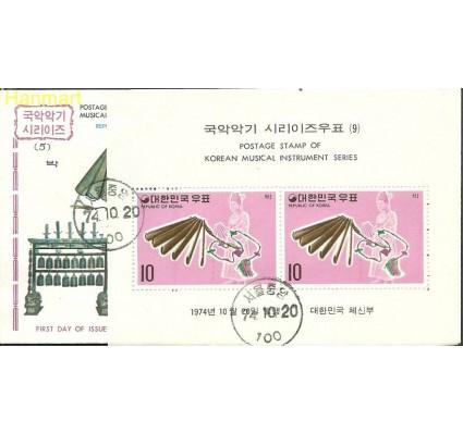 Korea Południowa 1974 Mi bl 394 FDC