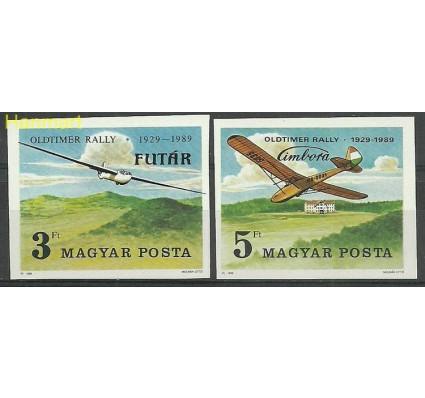 Znaczek Węgry 1989 Mi 4033-4034B Czyste **