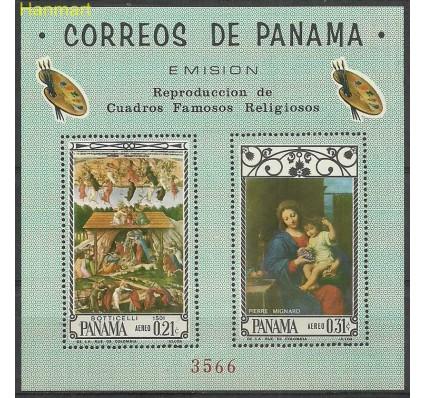 Znaczek Panama 1966 Mi bl 57 Czyste **