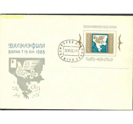 Znaczek Bułgaria 1965 Mi bl15 FDC
