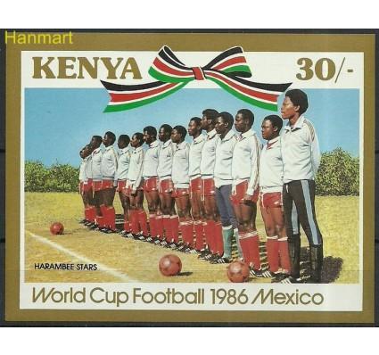 Znaczek Kenia 1986 Mi bl28 Czyste **
