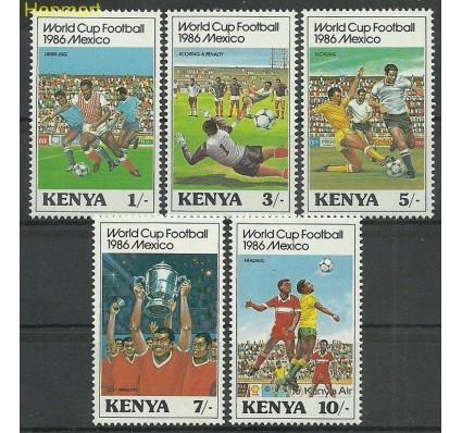 Znaczek Kenia 1986 Mi 360-364 Czyste **