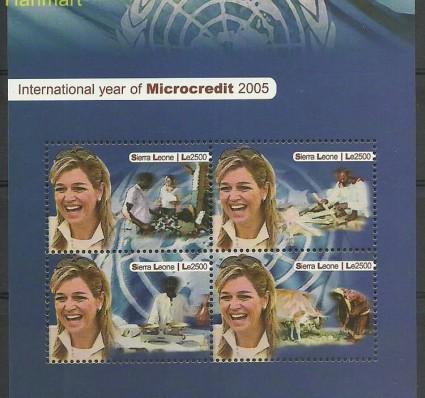 Znaczek Sierra Leone 2005 Mi ark4857-4860 Czyste **