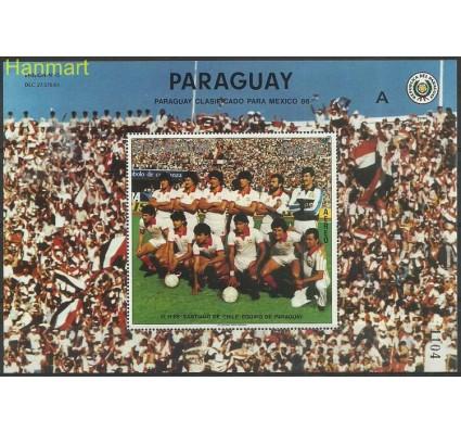 Znaczek Paragwaj 1986 Mi bl432 Czyste **