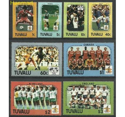 Znaczek Tuvalu 1986 Mi 367-374 Czyste **