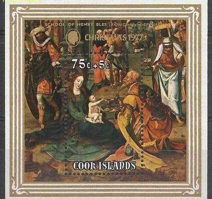 Znaczek Wyspy Cooka 1977 Mi bl76 Czyste **