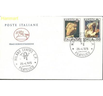 Znaczek Włochy 1975 Mi 1489-1490b FDC