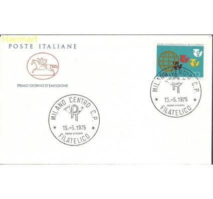 Znaczek Włochy 1975 Mi 1491 FDC