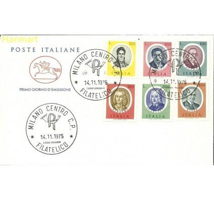 Włochy 1975 Mi 1507-1512 FDC