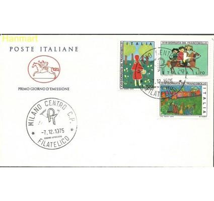 Znaczek Włochy 1975 Mi 1516-1518c FDC