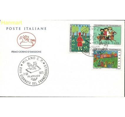 Znaczek Włochy 1975 Mi 1516-1518d FDC