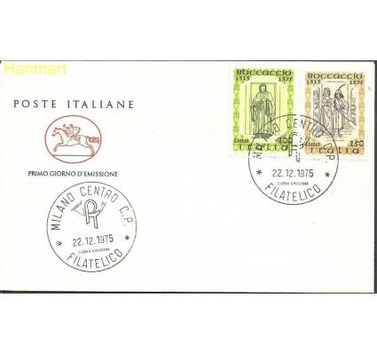 Znaczek Włochy 1975 Mi 1519-1520 FDC