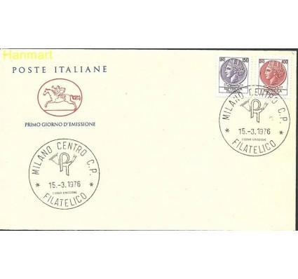 Włochy 1976 Mi 1522-1523b FDC